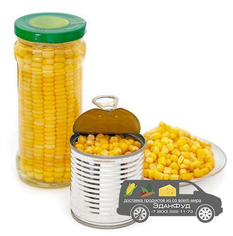 Кукуруза в банках (3 кг)